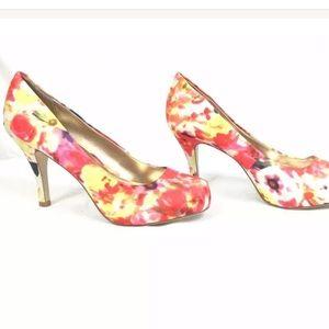 Madden girl heels 6 Getta closed toe  pink